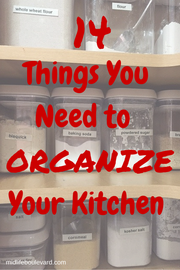 14 Things You Need for an Organized Kitchen