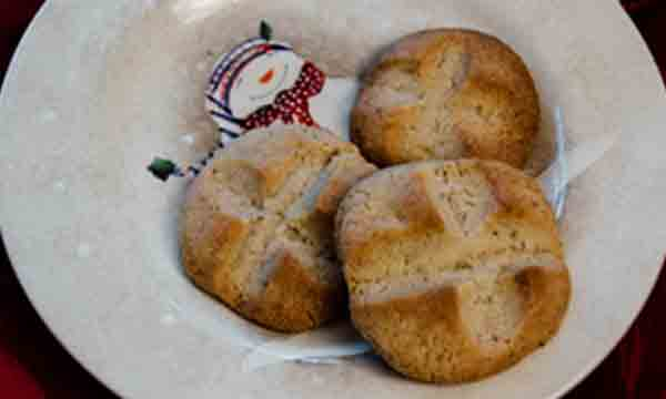 shortbread cookies, christmas cookies, curry, holiday baking