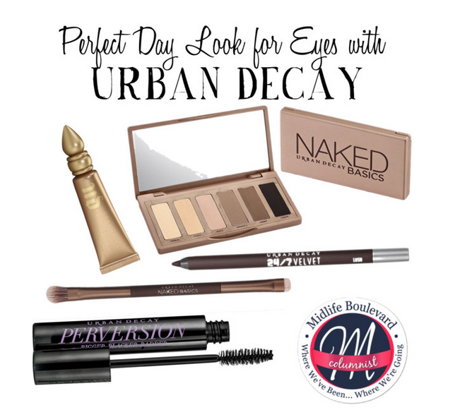 Eye makeup tutorial for women over 50 with our favorite Urban Decay products. Urban Decay Naked Palette. Beauty for women over 50 makeup.