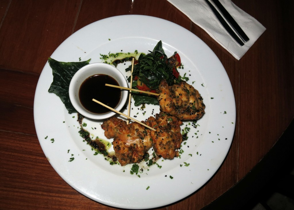 Lobster tempura - Buccano's at Night