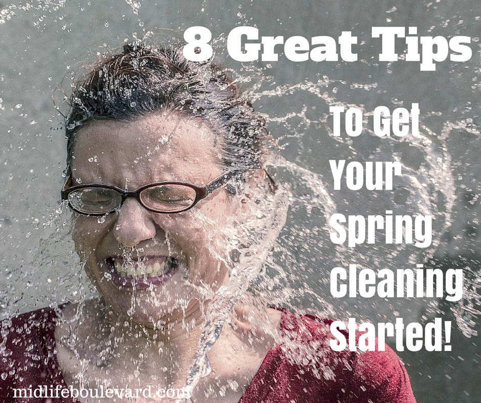 8 Tips for Easier Spring Cleaning