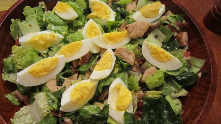 Hot Bacon & Chicken Salad