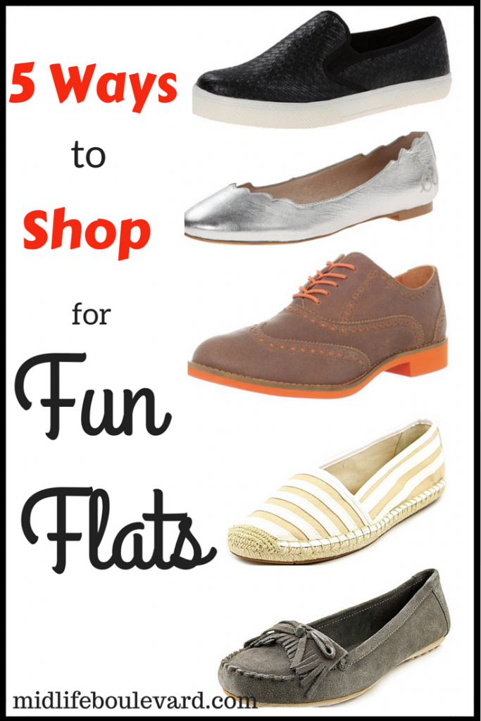 5 Ways to Shop for Fun Flats