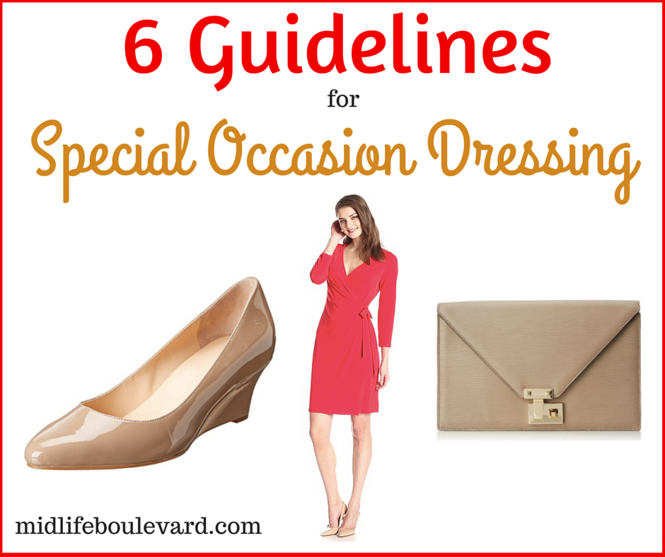 6 Guidelines for Special Occasion Dressing