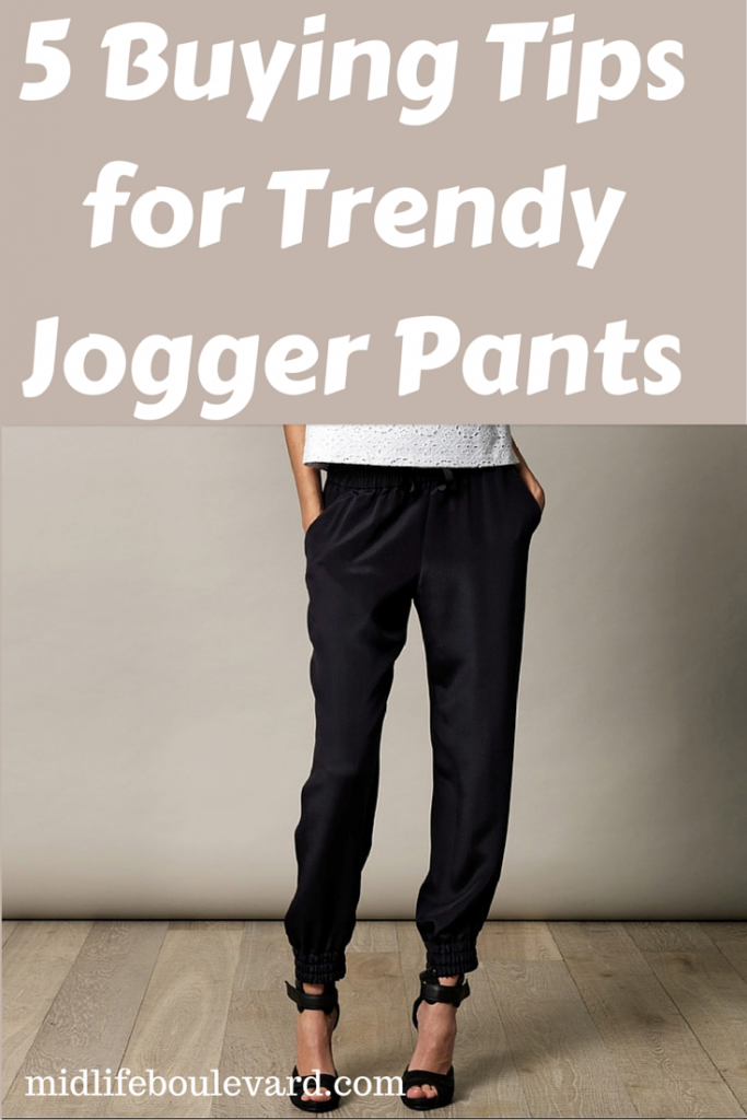 jogger pants, midlife fashion, spring fashion