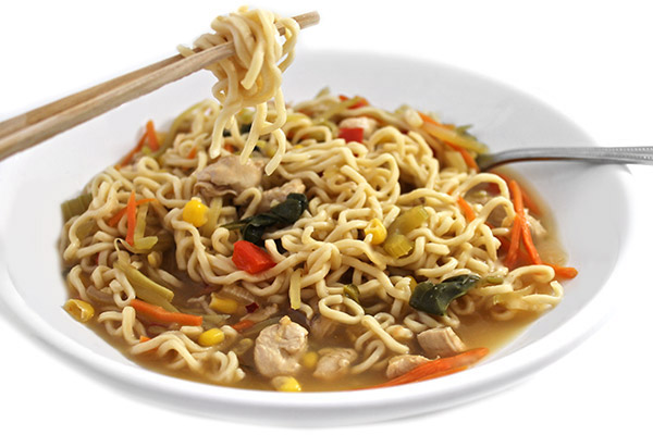 Asian Chicken Noodle Bowl Recipe Made Skinny