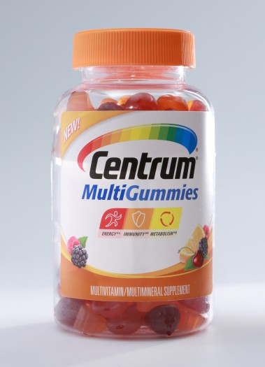 Centrum Multi-Gummies review. A chewable vitamin for adults.