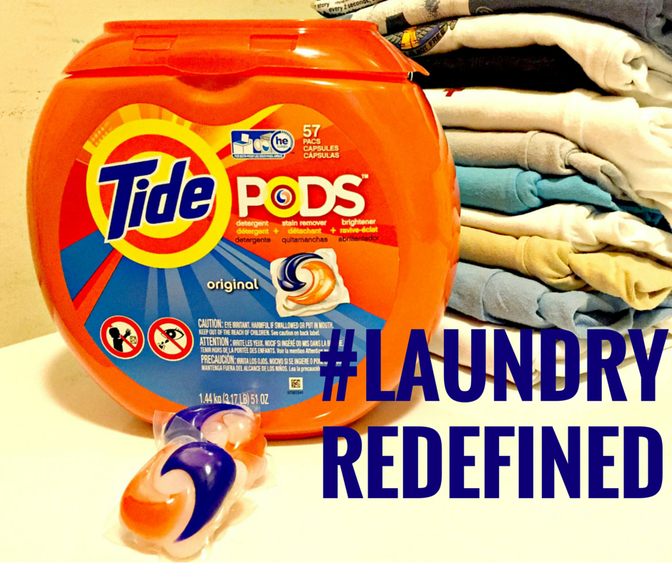Tide pods Laundry redefined