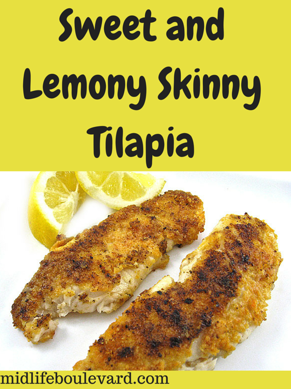 Sweet and Lemony Skinny Tilapia