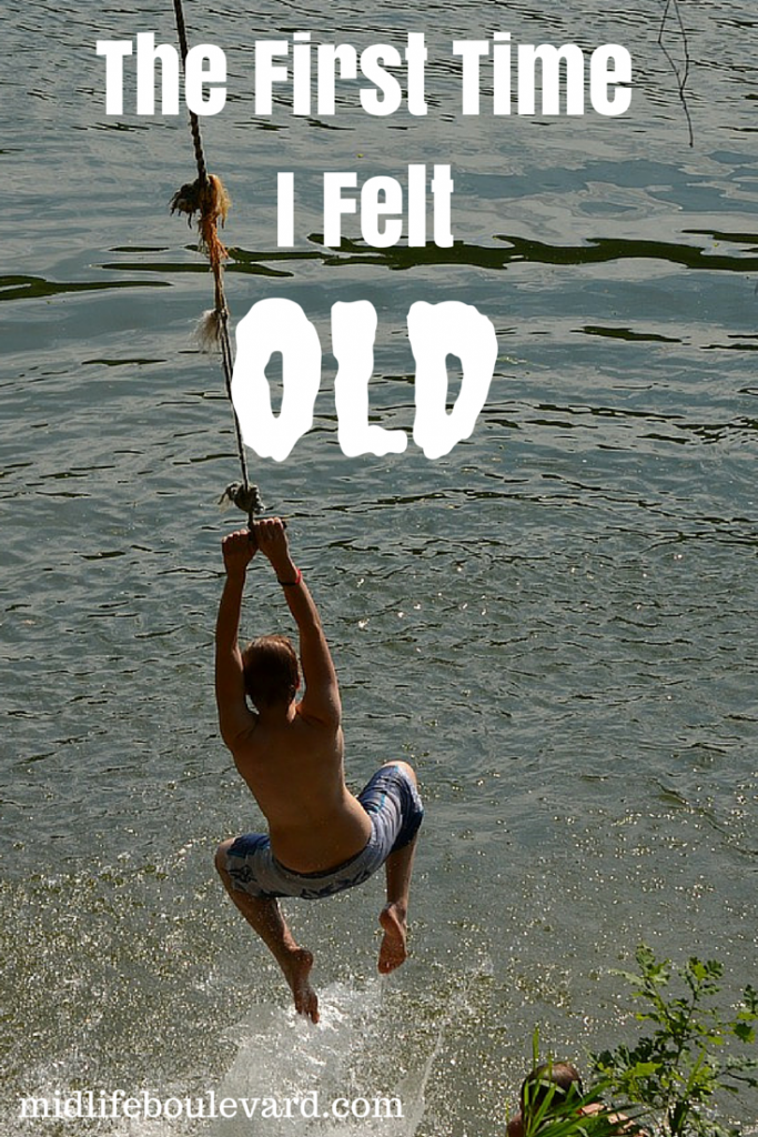 The First Time I Felt Old: over 50