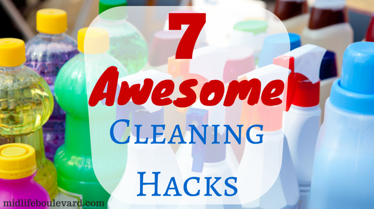 7 Awesome Cleaning Hacks