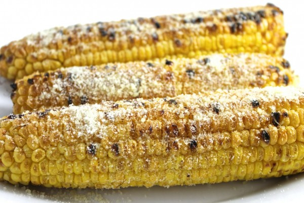 Parmesan Garlic Corn – Grilled or Broiled