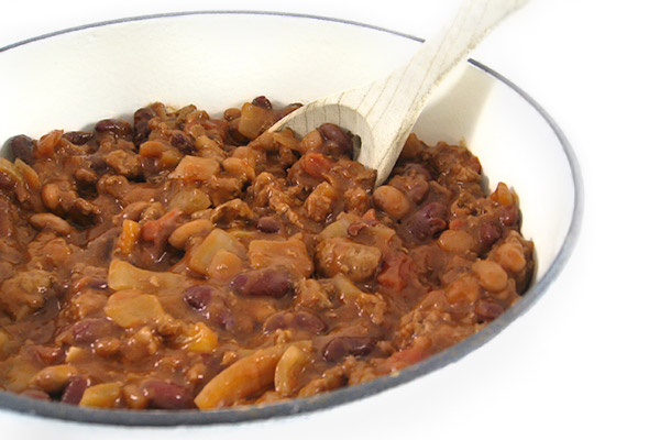 Chili con Carne with Beans – Skinny and Healthy