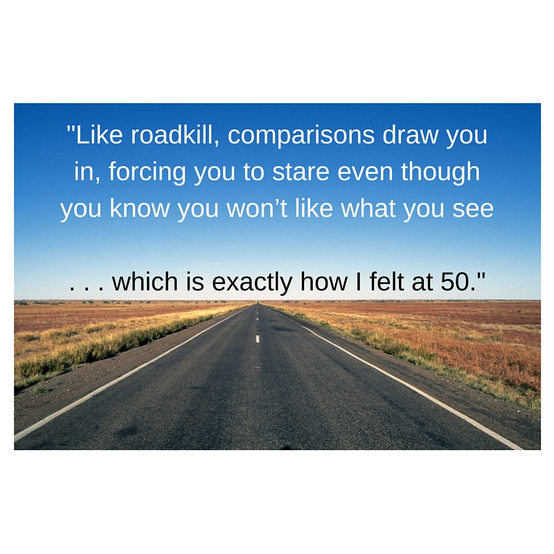 Do Midlife Comparisons Make You Feel Like Roadkill?