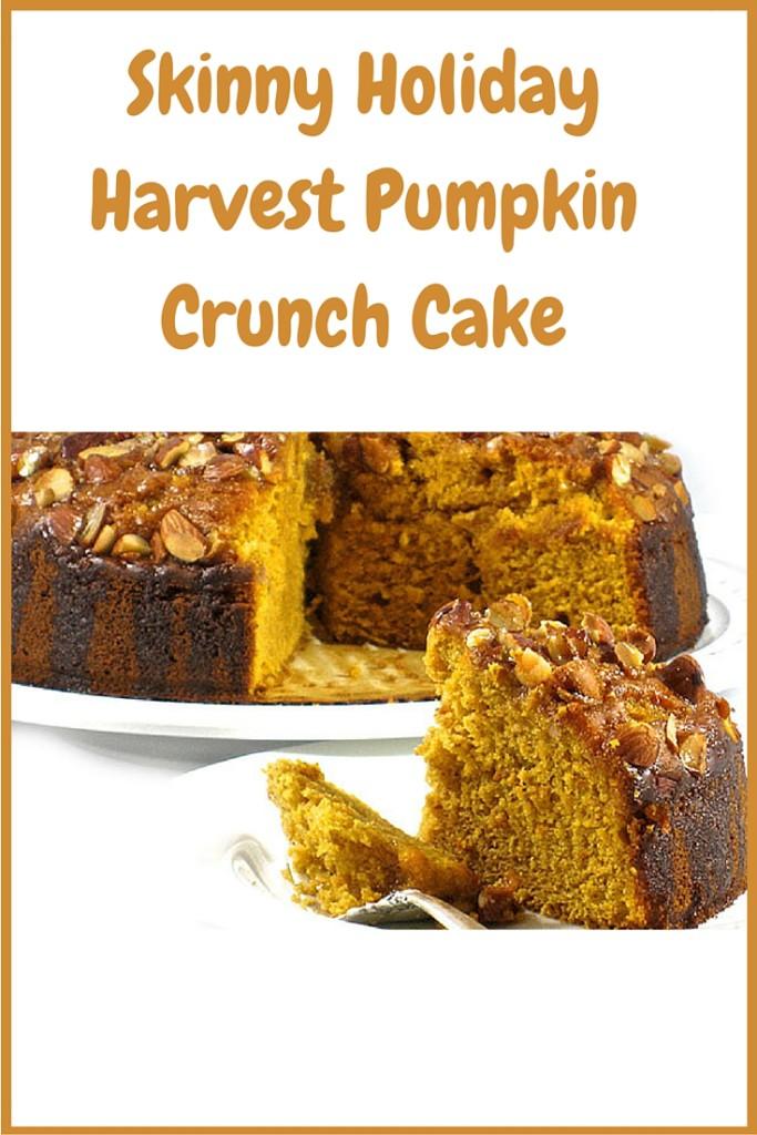 Skinny Holiday Harvest Pumpkin Crunch Cake