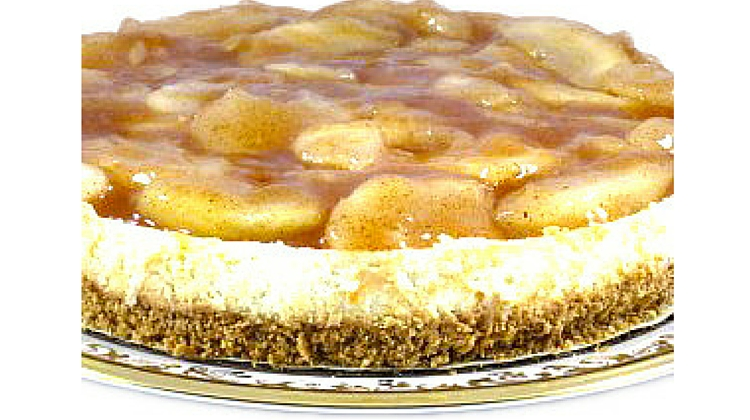 Delicious and Lo Cal Apple Pie Cheesecake