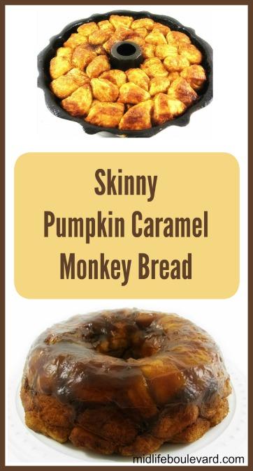 Lo-Cal Pumpkin Caramel Monkey Bread