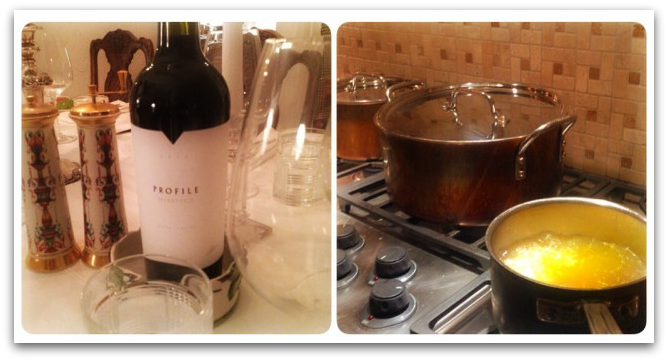 Holiday Cooking and Wine