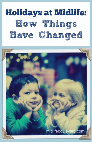 Holiday traditions change as you get older, your kids grow up and move away...
