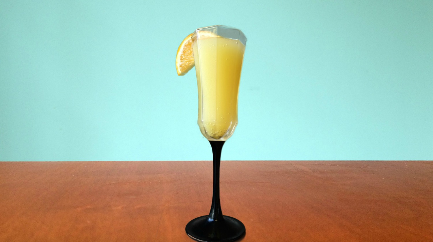 mimosa, cocktail, new year's beverage