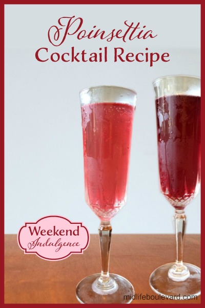 Weekend Indulgence: This is a light and refreshing holiday cocktail you'll want to serve year-round!