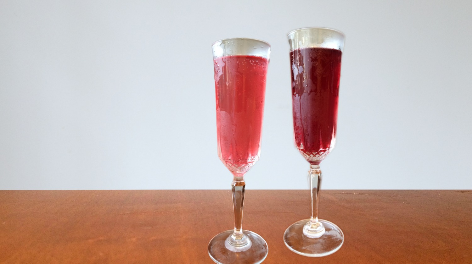 Weekend Indulgence: Poinsettia Cocktail