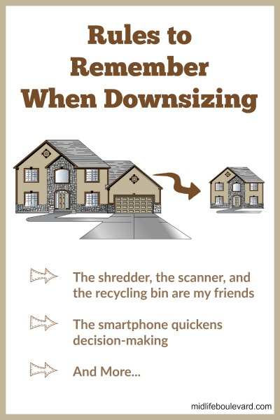 Rules to Remember When Downsizing