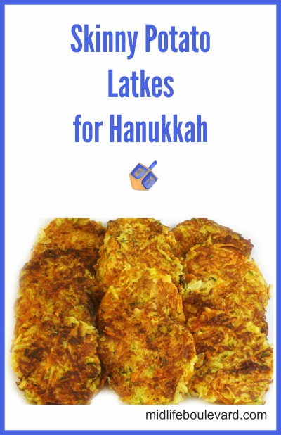 Skinny Potato Latkes for Hanukkah V