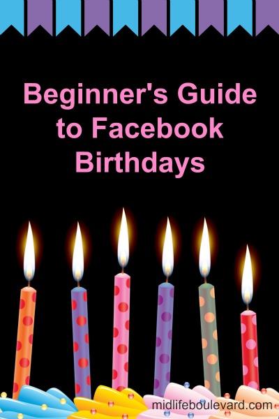 Beginner's Guide to Facebook Birthdays