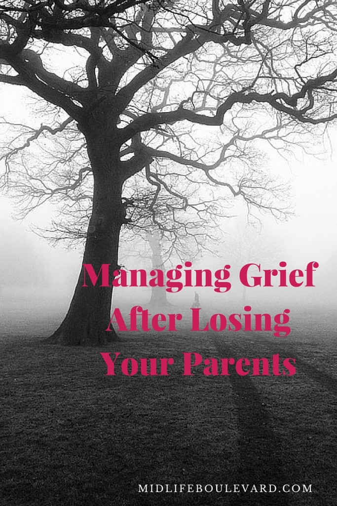 managing grief after losing parents