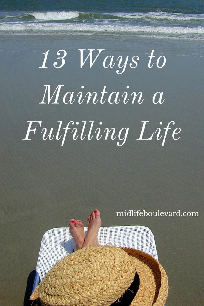 fulfilling habits at midlife