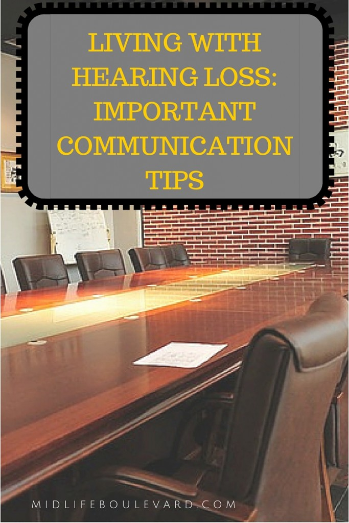 communication tips from those experiencing hearing loss