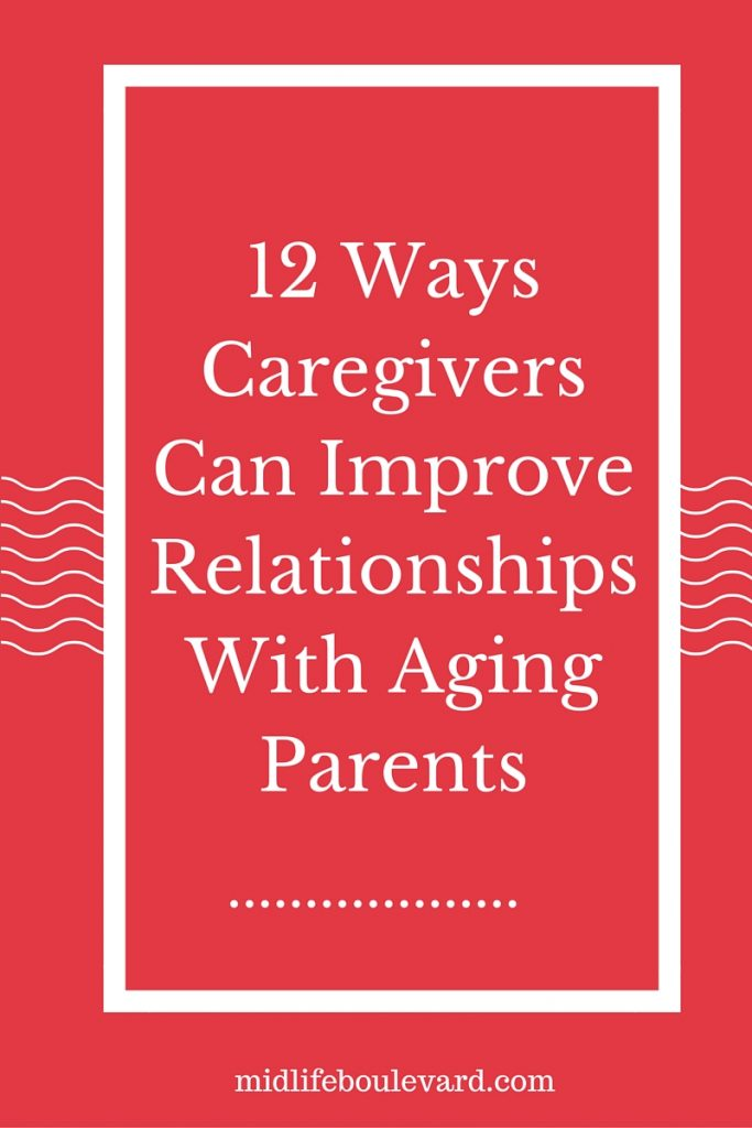 Relationships Between Caregivers and Aging Parents