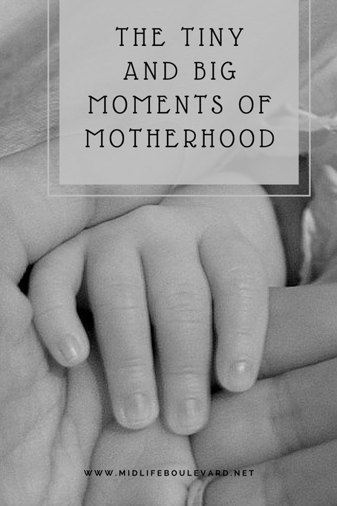 motherhood is made up of so many moments