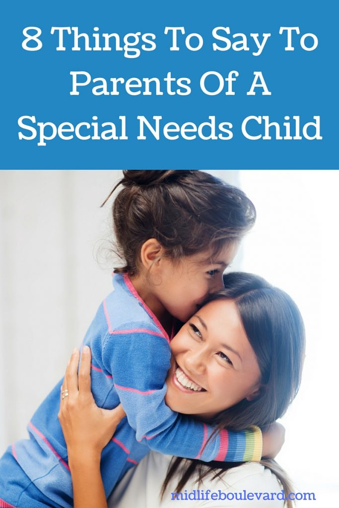 how to support special needs parents