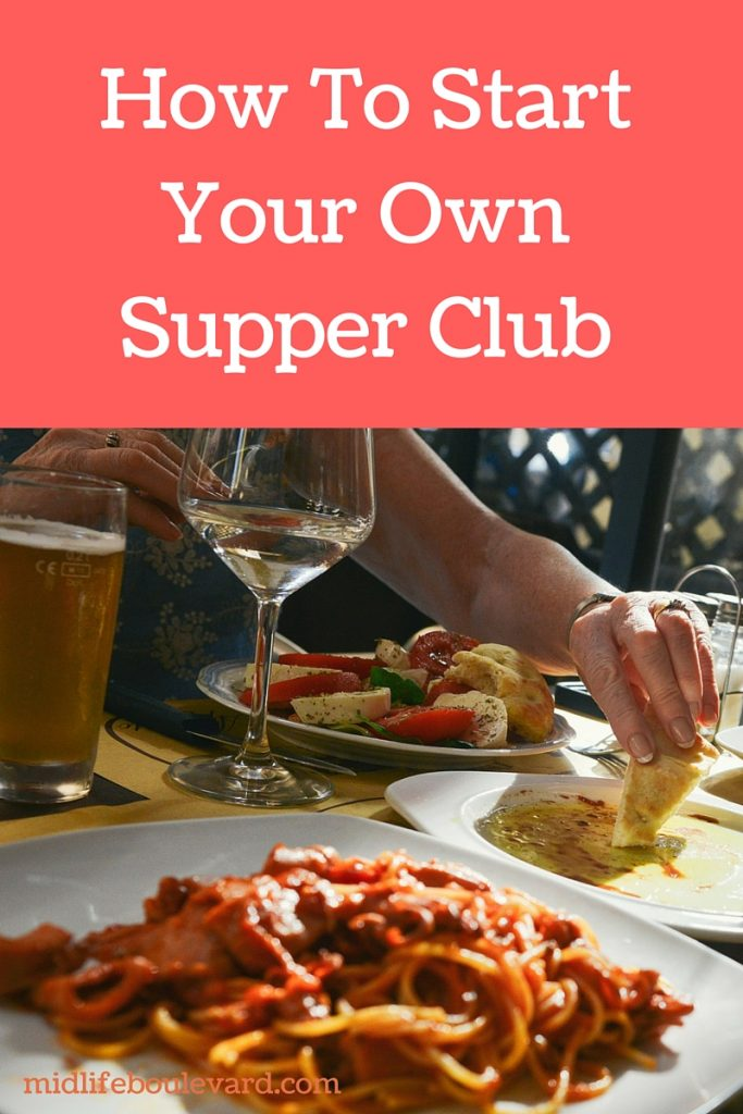 start your own supper club