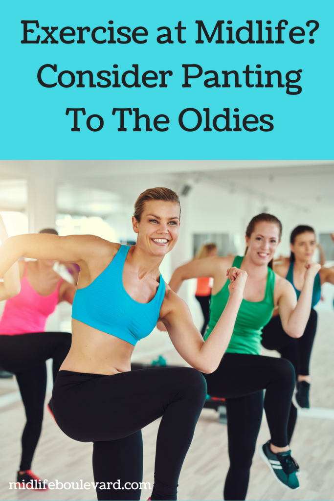 Working Out At Midlife Means Panting To The Oldies