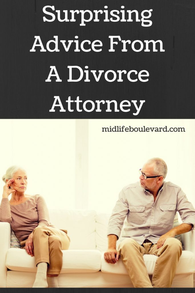 Surprising Advice From A Divorce Attorney