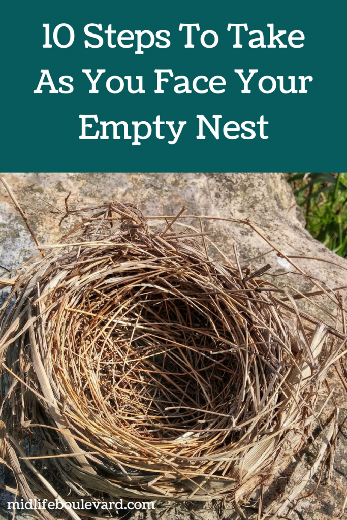 10 Tips On How To Face Your Empty Nest