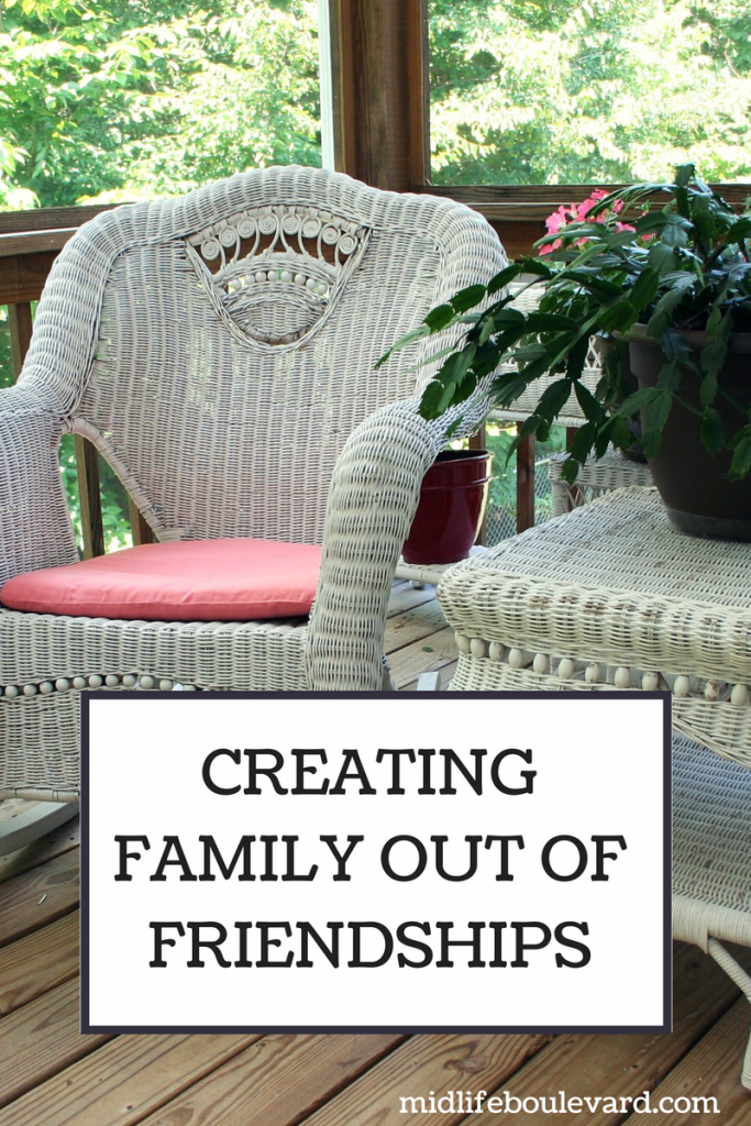 Creating Family Out Of Friendships