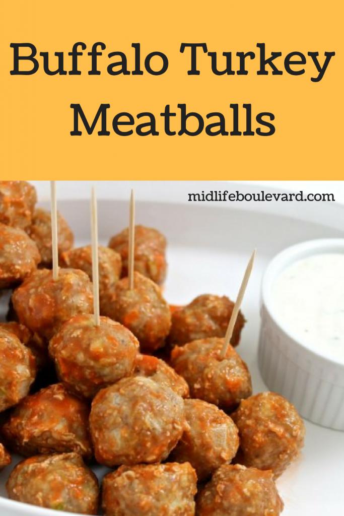 Delicious and Simple Buffalo Turkey Meatballs