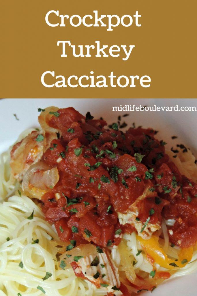 Crockpot Turkey Cacciatore