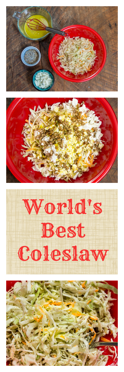Worlds best coleslaw recipe