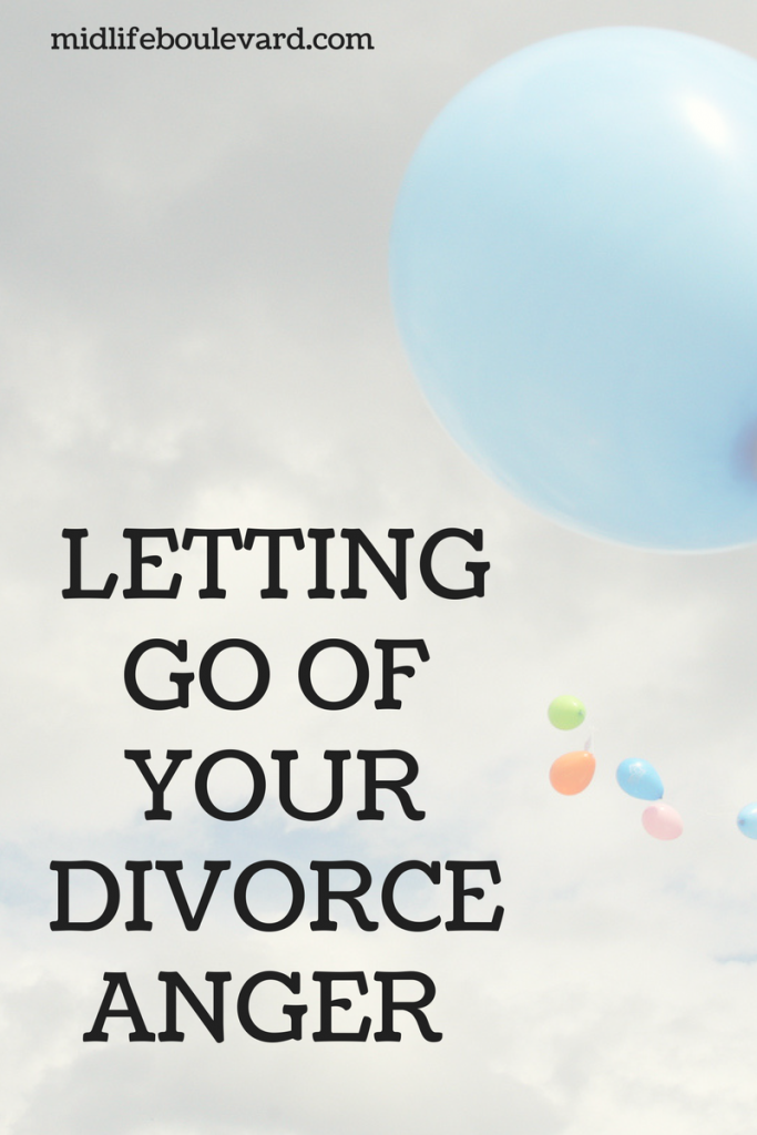 Letting Go Of Your Divorce Anger
