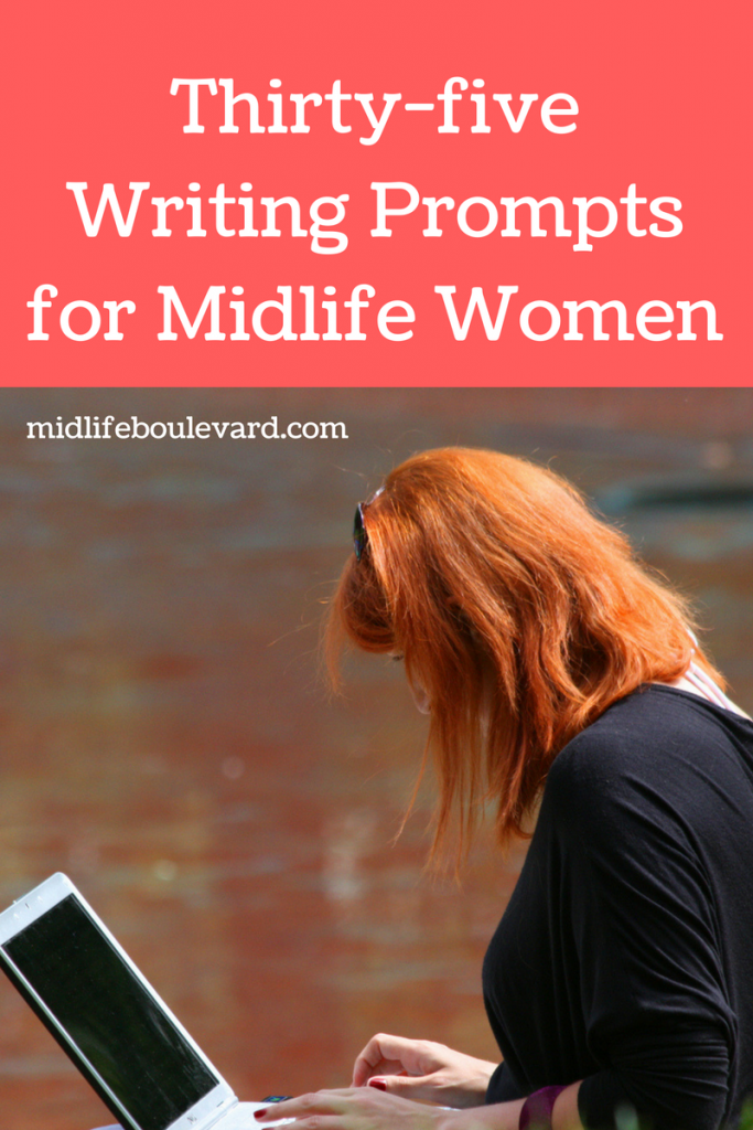 Thirty-five Writing Prompts for Midlife Women