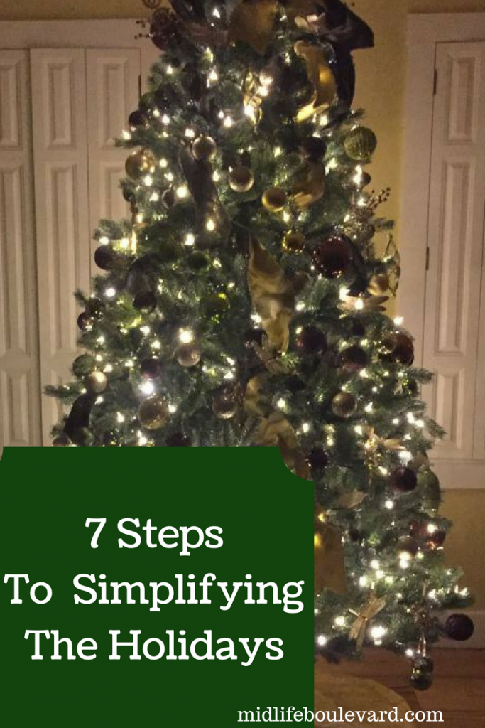 7 Steps To Simplifying The Holidays