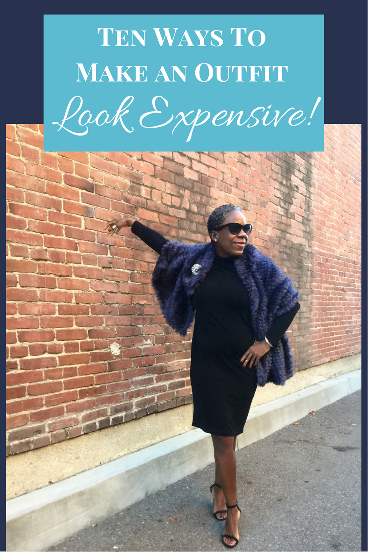 Make an outfit look expensive with these ten tips from Style Expert Glenda K Harrison. Fashion over forty. Fashion over fifty.