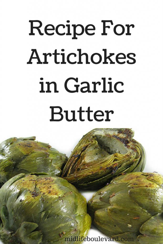 Recipe For Artichokes in Garlic Butter