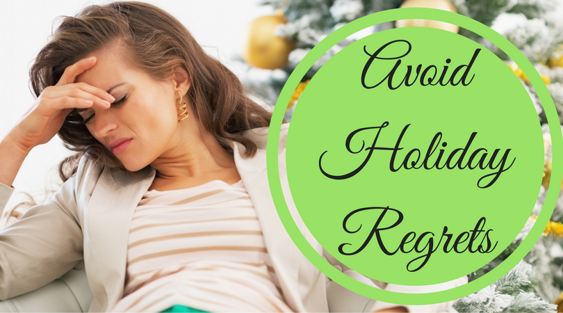 holiday regrets, christmas disappointment