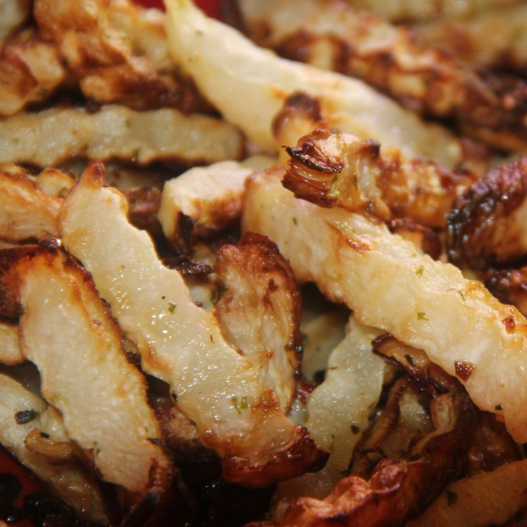 Healthy Turnip Fries